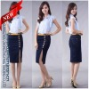 Skinny custom demin women skirts fashion skirt (CN1271)