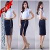 Skinny custom demin women skirts fashion skirt (CN1271)
