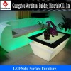 translucent acrylic LED furniture for home decor