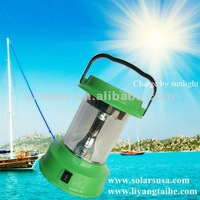 Colorful Solar camping lantern