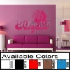 Contemporary wall sticker beautiful girl (Direct Buy)