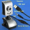 USB PC Camera with 6 leds light