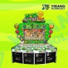 55 LCD Plants zombies 2 coin operated game machine
