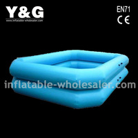 inflated swim pool