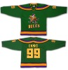 #99 BANKS Mighty Ducks Movie Ice Hockey Jersey