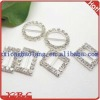 Mixed Rhinestone Bra Strap Ribbon Slider Buckles