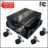HDD Car Black Box with 3G and GPS, Can Work With 4pcs Cameras