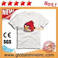 100% Cotton and Soft Advertising Ladies T Shirt 200g