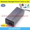 60W high efficiency AC DC adapter for laptop