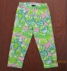 cotton girl capri legging