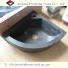 nature blue limestone washing basin and sink