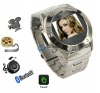 w968T stainless steel watch mobile phone