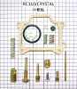 motorcycle parts piston ring carburetor repair kit RC110