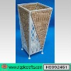 Metal Rattan Square Umbrella Stand