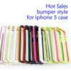 Hot Sales true color bumper style for iphone 5 case