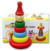 wood toy clown tumbler toys