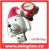 Dog product usb flash christmas gifts in bulk