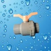 Pvc single union ball valve from China manufacture factory