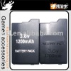 Battery for psp2000, for PSP2000 1200mAh battery, accessories for psp