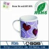 Elegant soft pvc mug for lover