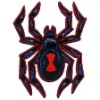 spider embroidery badge