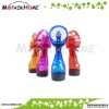 Plastic mini battery operated water mist spray fan
