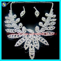 Fashion african fashion jewelry sets.flower african fashion jewelry sets