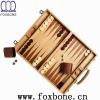 inlaid wooden backgammon