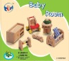"""TONY"" Baby Room wooden toys Doll Houses Mini Furniture"