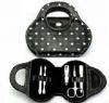 (KMS-090) 5 pieces PU box girl's manicure set