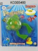 Pull Line Swimming Frog, Pull String Animals, Plastic Toys