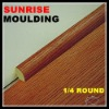 SUNRISE laminate quarter round moulding by MDF board