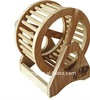 hamster / mice / rat wheel of natural wood for running