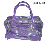 Transparent fashion bag