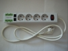 Surge protected AC socket with Phone Line and USB port