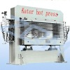 KATER hot press for wood plastic