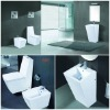 sanitary ware Bathroom set toilet bowl /pedestal basin/bidet