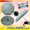 cheap telescopic wedding umbrella with bride and groom's portrait/3-fold off-set printing umbrella