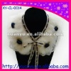 fashion accessory removable noble detachable winter shawl Thick big wool collar for lady