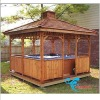 KD-895 wooden gazebo of Outdoor Spa