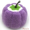 pumpkin 100%microfiber towel cake wedding