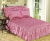 3Pcs Satin Bedspread Set