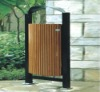 2012 outdoor wooden trash,garbage can WS-H15601