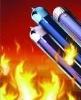 hot sale solar purple gold vacuum tube
