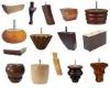 various designs of wood furniture legs
