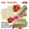 Wooden Toothpicks 2.0*68mm Single Pointed High Quality and Low Price Factory Outlet