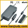 90W 2 in 1 universal car and home adapter for laptop