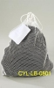 POLYESTER MESH DRAWSTRING LAUNDRY BAG