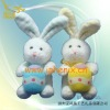 Plush & Stuffed Toys-Bunny with Easter egg
