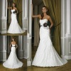 2012 sheath 100% custom made lace wedding dress patterns